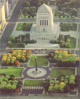 Indiana War Memorial Plaza